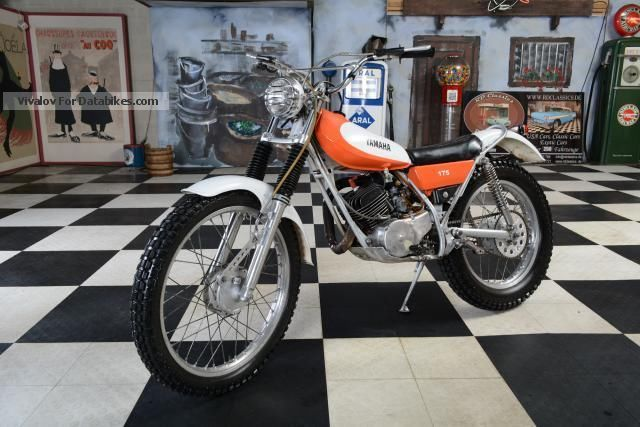 1976 Yamaha  Dirt Bike Motorcycle Dirt Bike photo