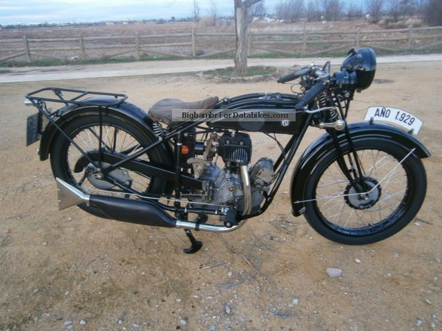 NSU  T 301 1929 Vintage, Classic and Old Bikes photo