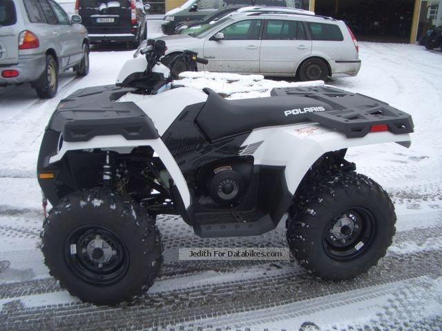 2012 Polaris  Sportsman 800 Edition white - LOF Motorcycle Quad photo