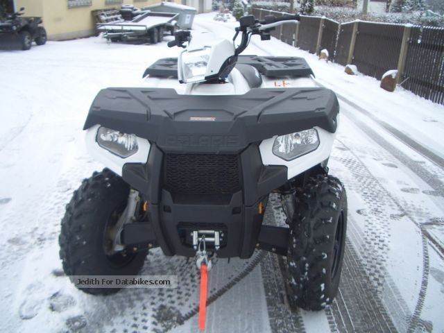 2012 Polaris Sportsman 800 Edition White Lof