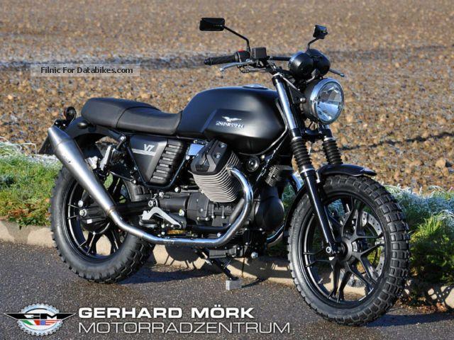 2012 Moto Guzzi  V7 Scrambler GM-Special Motorcycle Motorcycle photo