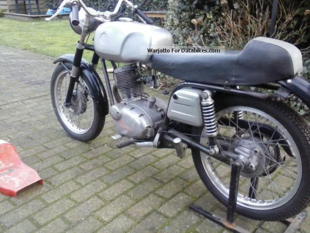 Gilera  124 125 cc vintage 4-tact 1960 Vintage, Classic and Old Bikes photo