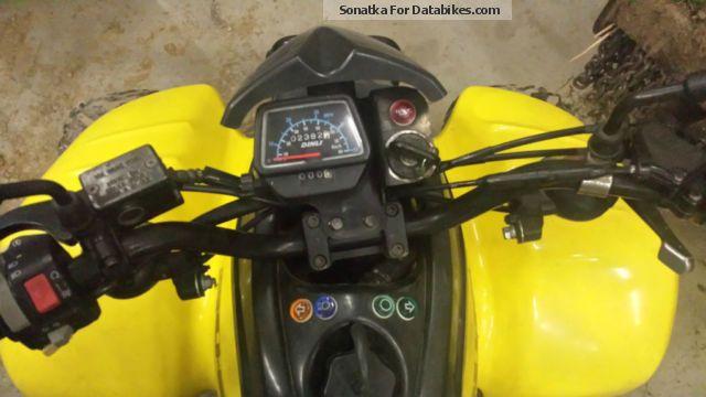 Honda 50cc Atv >> 2003 Dinli T-Rex 50cc + trailer