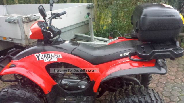 2012 E-Ton  Yukon Motorcycle Quad photo