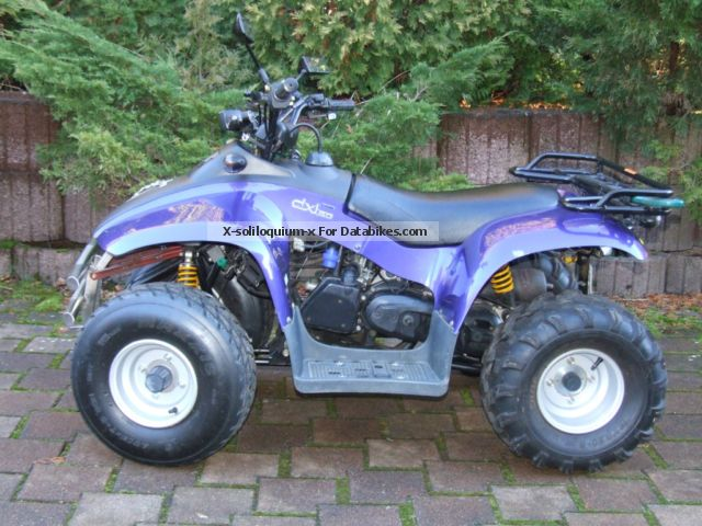 2012 E-Ton  Tornado DXL 50 Motorcycle Quad photo