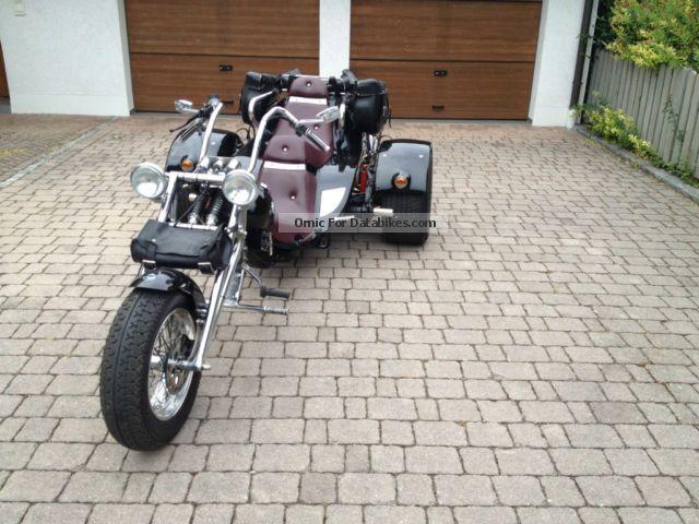 2012 Boom  Beautiful Low-Rider Motorcycle Trike photo