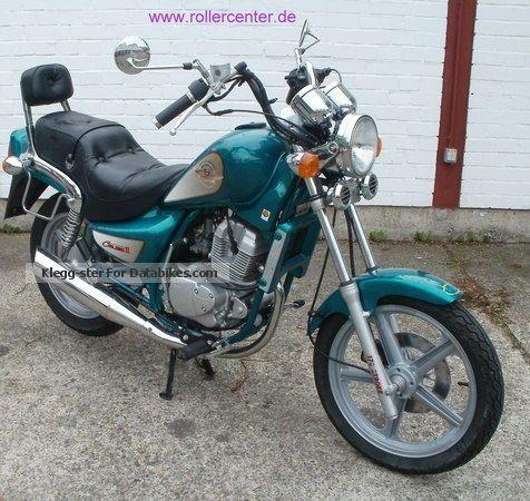 2001 Hyosung  CRUISE 125 Motorcycle Motorcycle photo