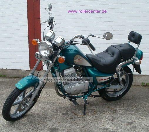 2001 hyosung cruise 125 motorcycle motorcycle photo 1
