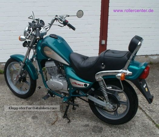 2001 hyosung cruise 125 motorcycle motorcycle photo 2
