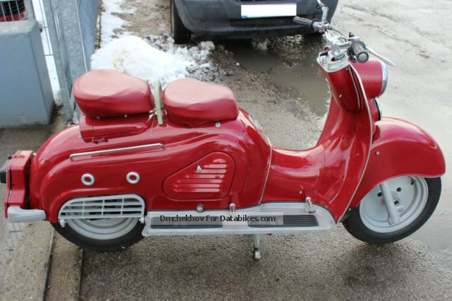 1955 Zundapp  Zündapp Bella Motorcycle Scooter photo