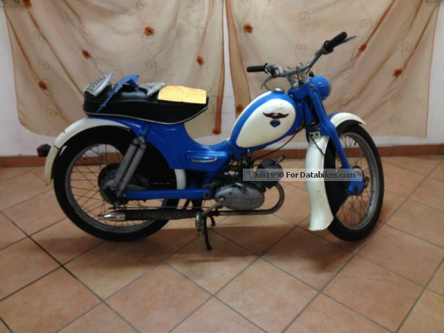 1958 Zundapp  Zündapp Super Combinette Motorcycle Motor-assisted Bicycle/Small Moped photo