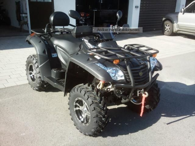 2012 CFMOTO  Terra Terra Lander Lander 625 EFI 4x4 XL LoF Motorcycle Quad photo