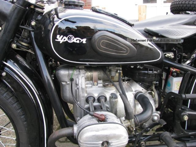 1965 Ural  M-63 Motorcycle Combination/Sidecar photo