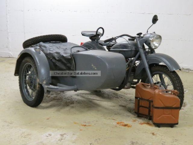 1956 Ural  K 750 Motorcycle Combination/Sidecar photo