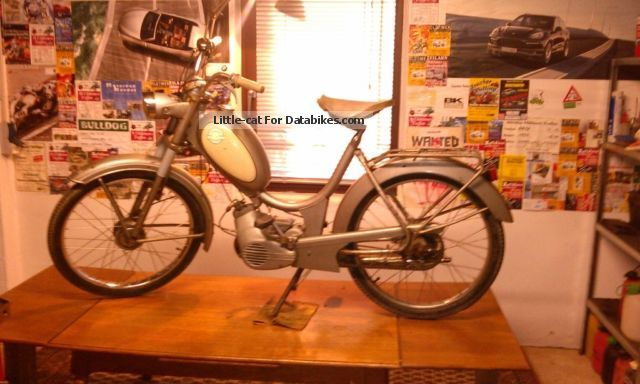 1966 Herkules  221 MFH Motorcycle Motor-assisted Bicycle/Small Moped photo