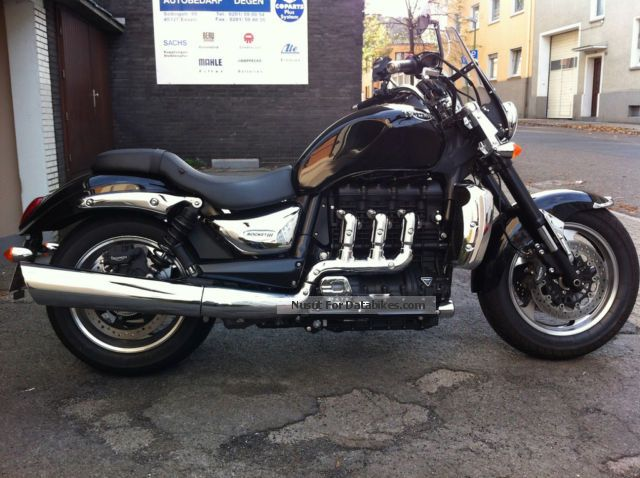 2011 Triumph  Rocket 3 Roadster Motorcycle Motorcycle photo