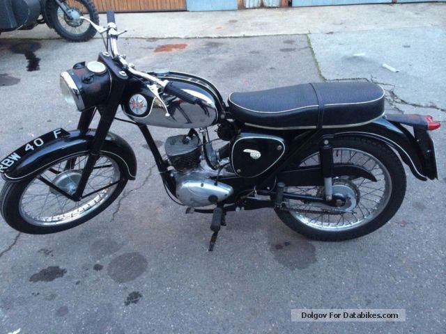 BSA  D14 / 4 1968 Vintage, Classic and Old Bikes photo