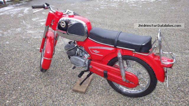 Zundapp  Zündapp KS 50 Sport TYPE 517-06 List 5 1969 Vintage, Classic and Old Bikes photo