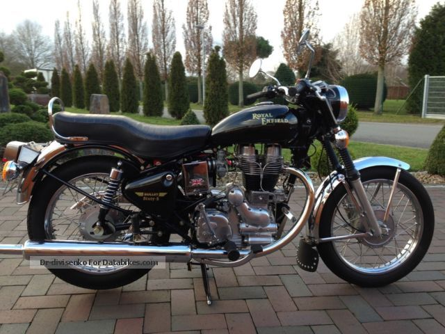 2012 Royal Enfield  Bullet sixty-five Motorcycle Motorcycle photo