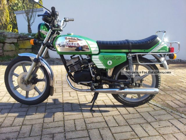 1982 Hercules  GP 4 Motorcycle Motor-assisted Bicycle/Small Moped photo