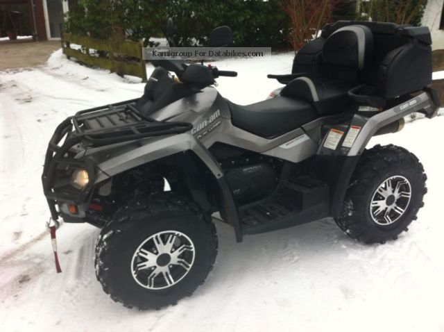 quad can am outlander 800 limited