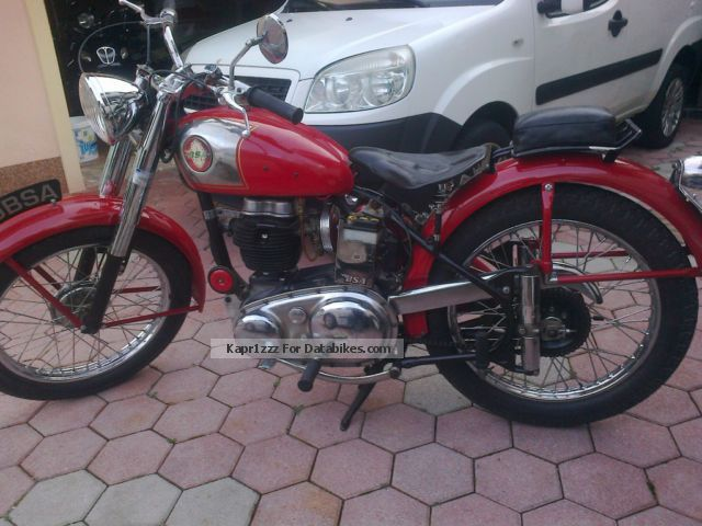 BSA  C11 1954 Vintage, Classic and Old Bikes photo