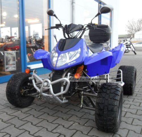 2010 PGO  X-Fire 300 Superflat Motorcycle Quad photo