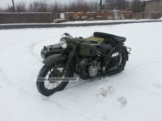 Ural  Irbit M72 first execution model 1940-44 Rare 1944 Vintage, Classic and Old Bikes photo