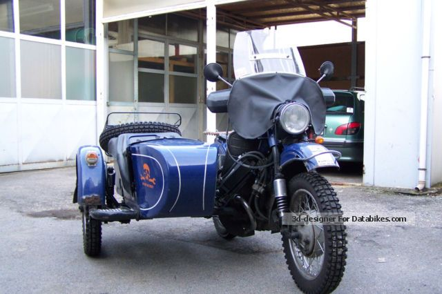 2000 Ural  650 Winter trailer Motorcycle Combination/Sidecar photo