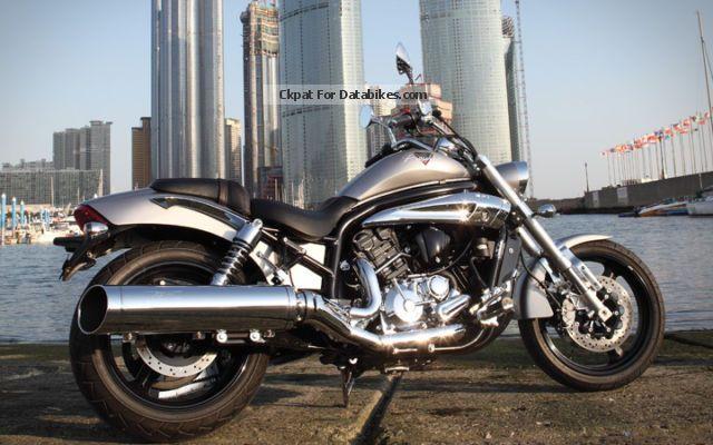 2014 Hyosung  GV 650 i Pro 54 +35 kw Motorcycle Chopper/Cruiser photo