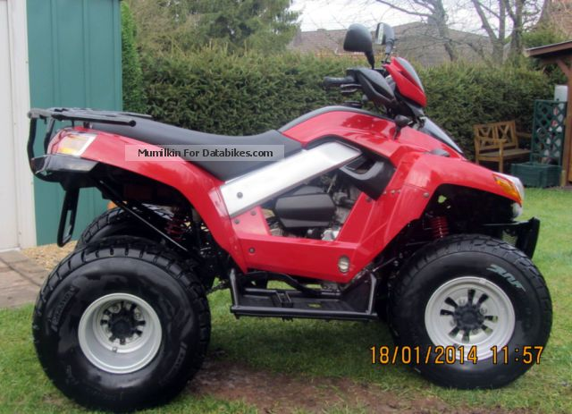 2008 SYM  Quadlander 250 Bauj.04.2008 fresh inspection Motorcycle Quad photo