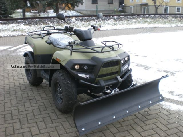 2012 Cectek  Gladiator T6 EFI 4x4 Motorcycle Quad photo