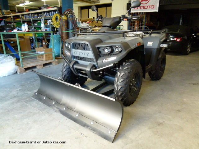 2012 Cectek  Gladiator T6 500 IX D-LoF incl snow plow Motorcycle Quad photo