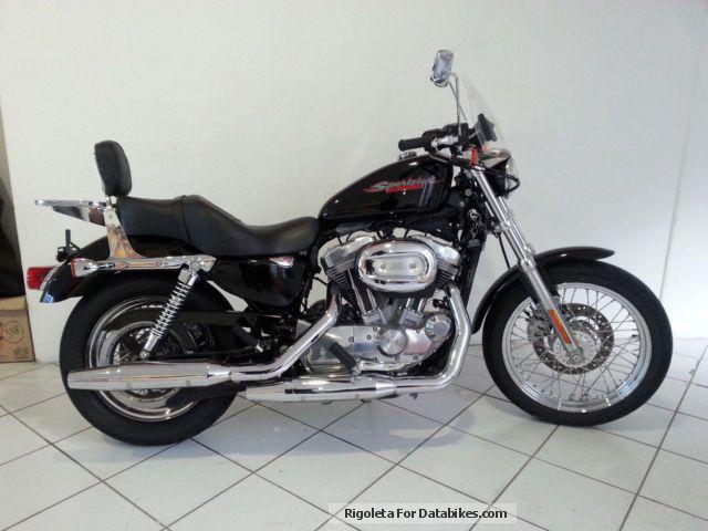 2007 Harley Davidson  Harley-Davidson 883 Motorcycle Chopper/Cruiser photo