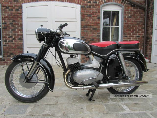 DKW  RT 350 S 1958 Vintage, Classic and Old Bikes photo