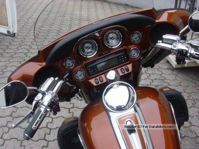 2008 Harley Davidson  Harley-Davidson Ultra-Glide e CVO SE Motorcycle Tourer photo