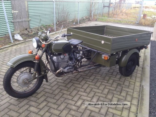 1979 Ural  dnepr p300 Motorcycle Lightweight Motorcycle/Motorbike photo
