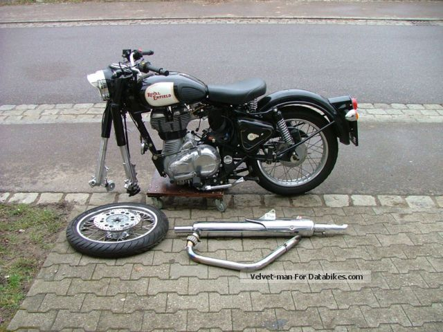 2012 Royal Enfield  500 Classig EFI accident Motorcycle Motorcycle photo
