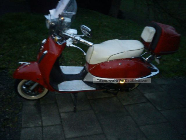 2011 Zhongyu  Retro Motorcycle Scooter photo
