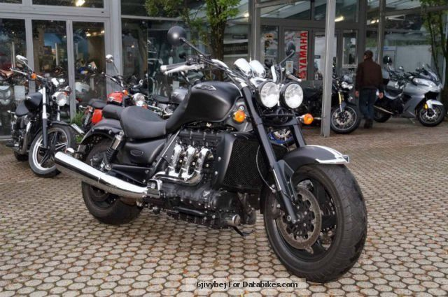 2013 Triumph ROCKET III ROADSTER ABS A2 with 4 years warranty