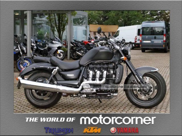 Triumph  ROCKET III ROADSTER ABS A2 with 4 years warranty 2013 Chopper/Cruiser photo
