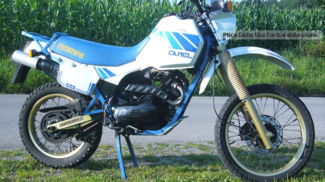 1987 Moto Morini  Camel 501/2 Motorcycle Enduro/Touring Enduro photo