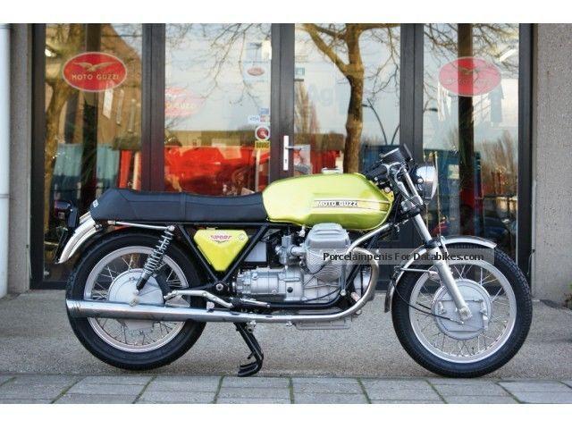 1974 Moto Guzzi  V7 SPORT Motorcycle Other photo