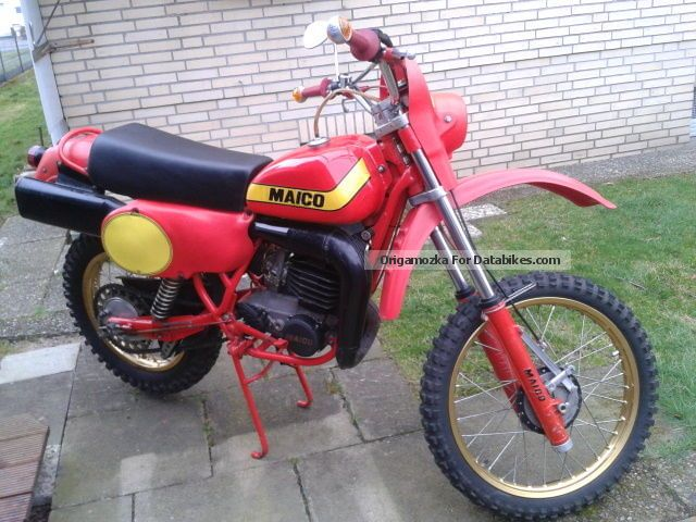 1979 Maico  GS250T Motorcycle Enduro/Touring Enduro photo