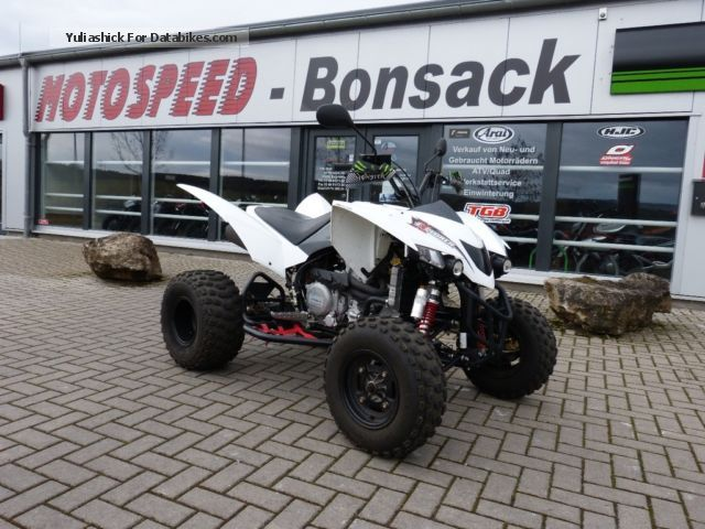 SMC  Trasher 520 4x2 LOF very well maintained 2012 Quad photo