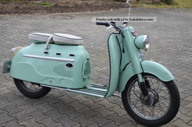 DKW  Hobby MANURHIN SM 75 1959 Vintage, Classic and Old Bikes photo