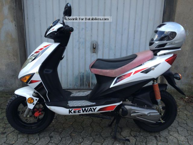 2008 Keeway  6 RY 50km / h with helmet Motorcycle Scooter photo