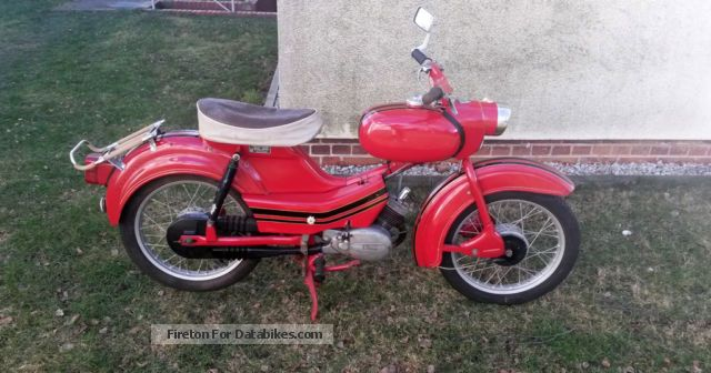 Simson  Sparrow 1965 Vintage, Classic and Old Bikes photo