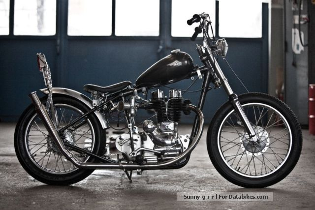 Royal Enfield  Model G chopper Bj 1954 1954 Vintage, Classic and Old Bikes photo