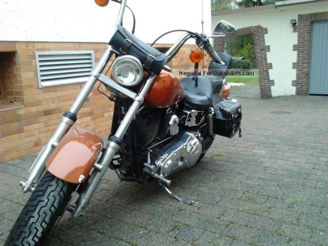 2001 Harley Davidson  Harley-Davidson Wide Glide Motorcycle Chopper/Cruiser photo